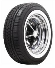 "P235/55R17   1 3/4"" (44mm) Weisswand"